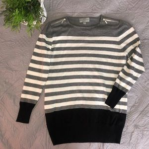 Joseph A Striped Cardigan